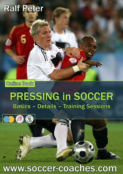 Online-Book Pressing in Soccer