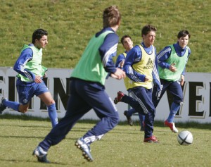 Soccer Drills - Oezil as U19 Player FC Schalke 04