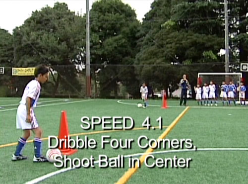 Speed Training - Dribble Four Corner