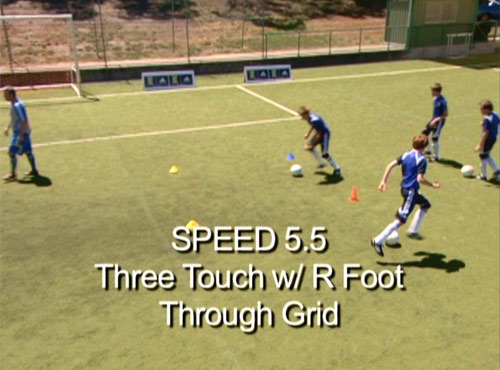 Speed Training - Three Touch