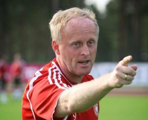 DFB Soccer Coach Ralf Peter
