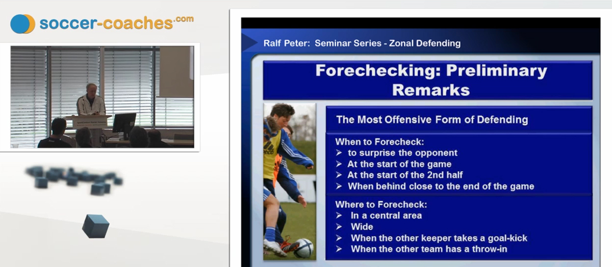 Soccer Training - Soccer Tactics (11) -- Forechecking