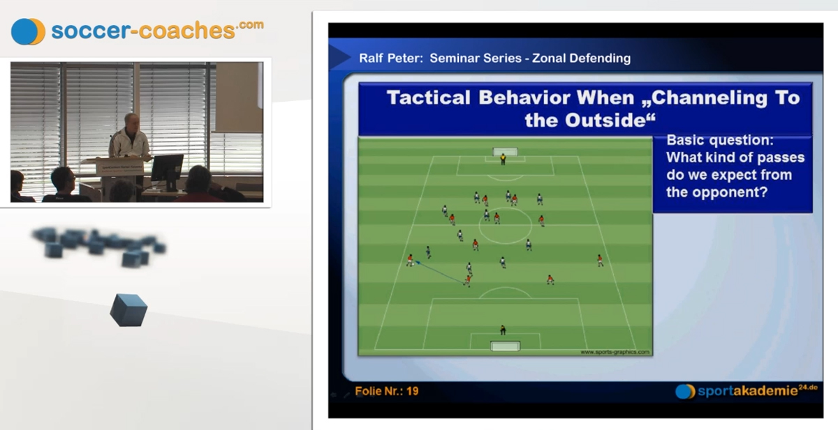 Soccer Training – Midfield pressing for advanced coaches