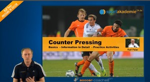 Soccer Tactics - Counter Pressing