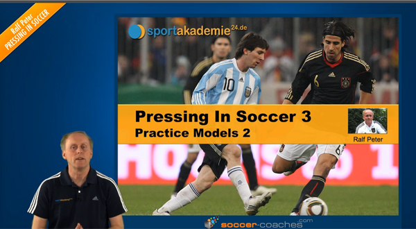 Soccer Tactics: Pressing in Soccer - Practice Models 2