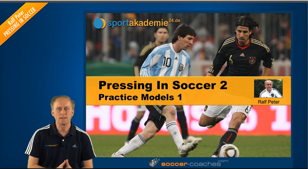 Soccer tactics: Pressing in Soccer - Pratice Model 1