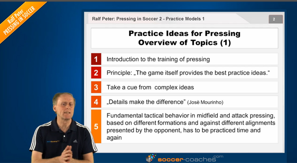 Pressing in Soccer (2) - Overview