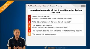Soccer Tactics - Counter Pressing - Transition