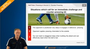 Soccer Tactics - Counter Pressing - Challange