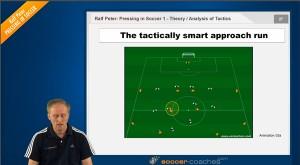 Pressing in Soccer - Approach Run
