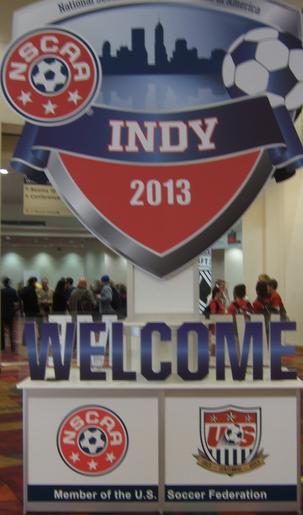 NSCAA Convention 2013 Indianapolis