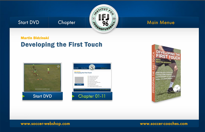 Soccer DVD First Touch