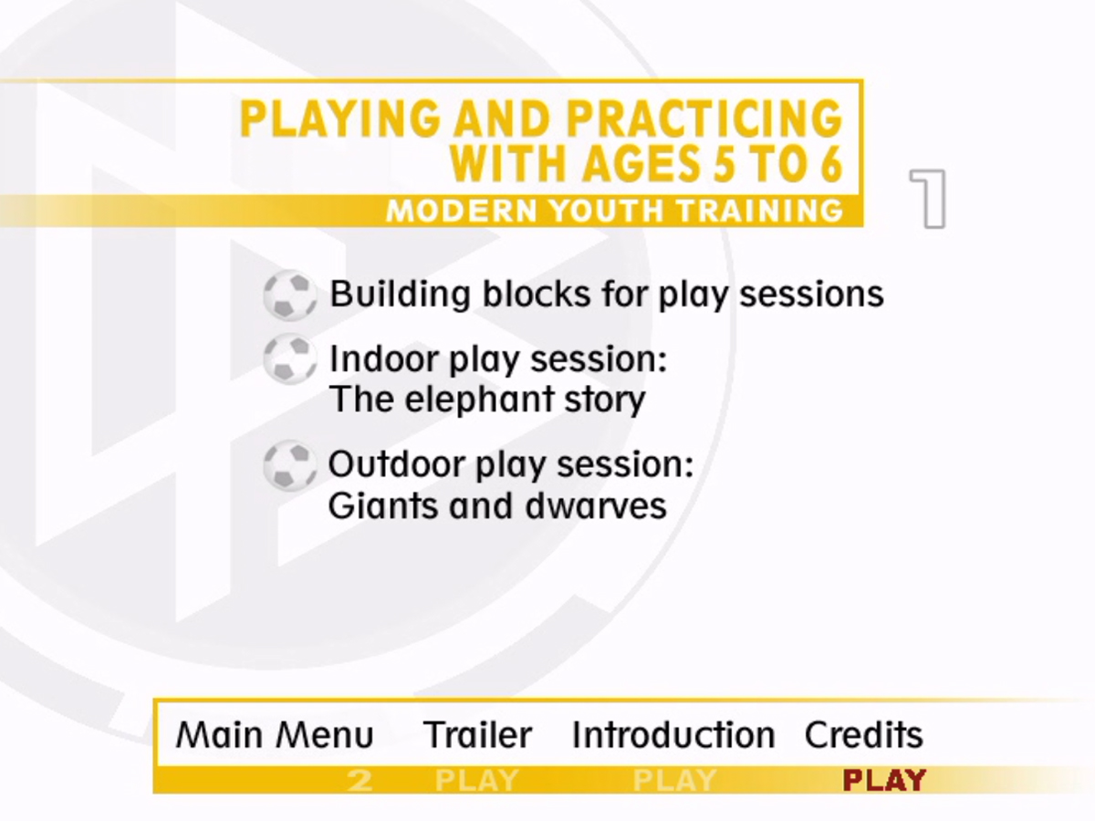 Youth Soccer - Playing and Practicing with Five- to Six-Year-Olds