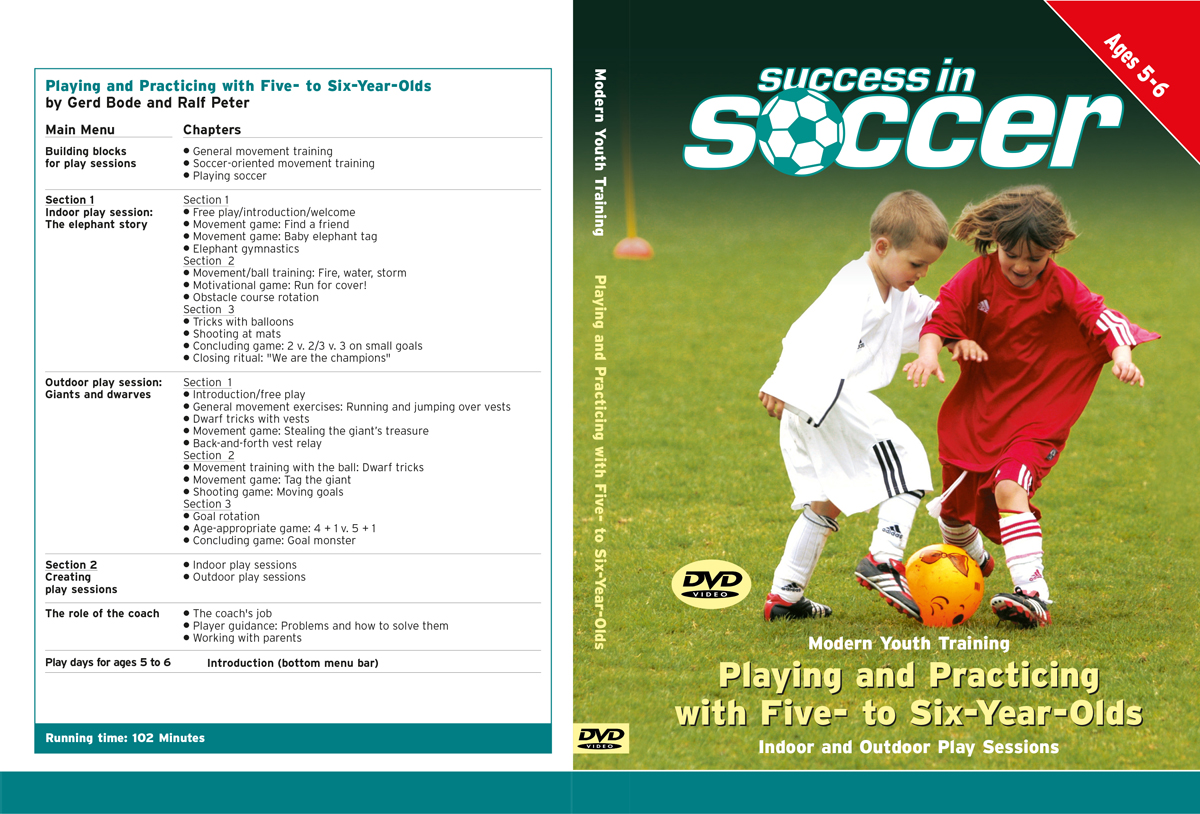 Youth Soccer (1) - Playing and Practicing with Five- to Six-Year-Olds