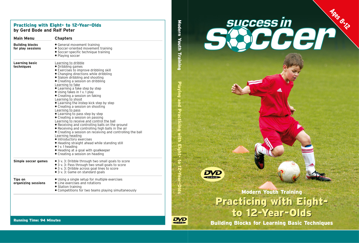 Youth Soccer (3): Playing and Practicing with Eight to Twelve-Year-Olds