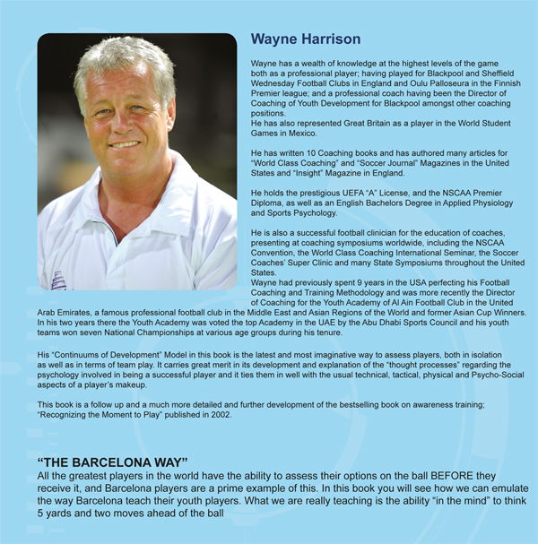 Wayne Harrison: Soccer Awareness