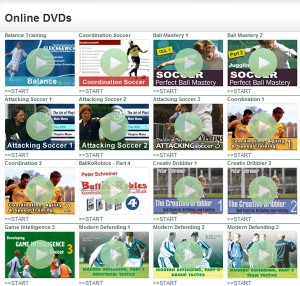 Soccer Drills in DVDs online