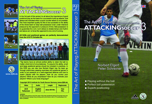 Soccer DVD Attacking Soccer 3