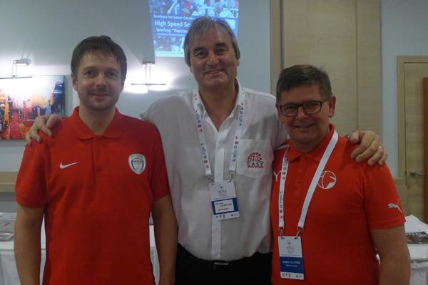 Frankie Jensen, Albert Ellefsen (Faroe Islands) and Peter Schreiner (Germany)