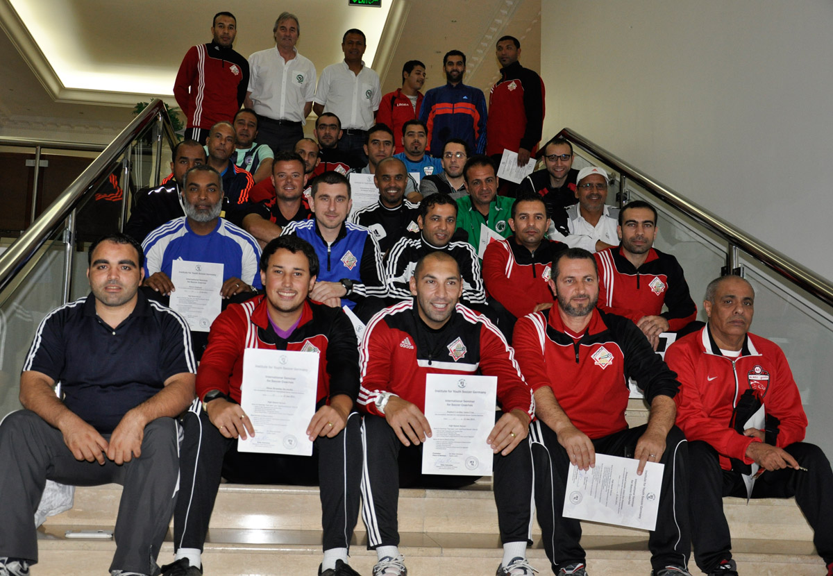 Coaches at the seminars in 2014