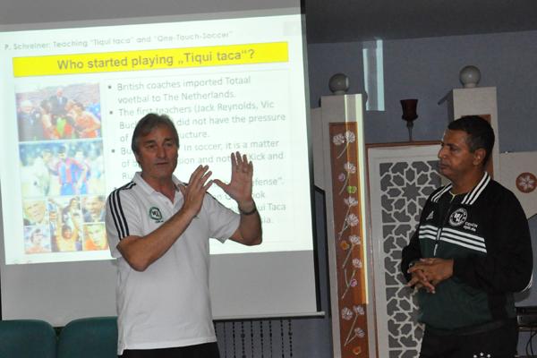 Peter Schreiner - Presenter in Dubai 2014