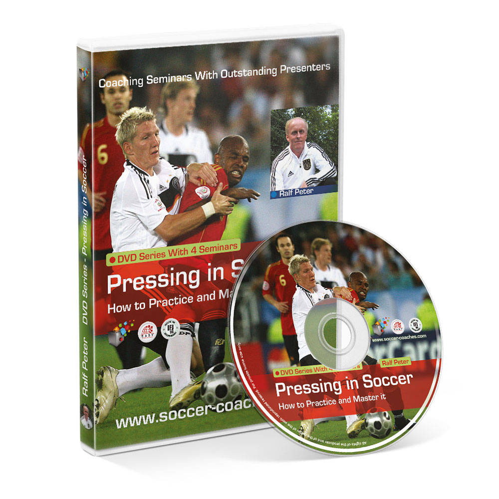 "DVD with 4 Seminars ""Pressing in Soccer"""