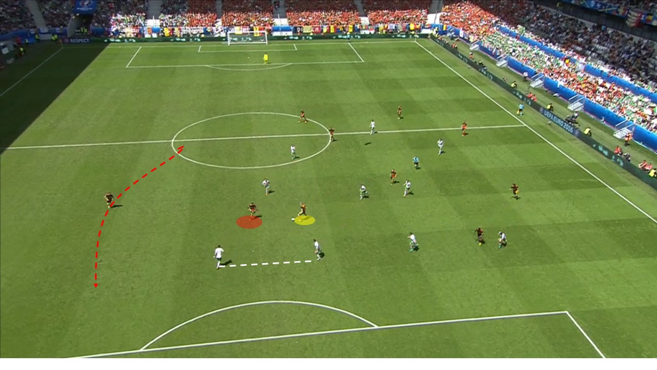 EM 2016 Match Analysis: Belgium – Ireland 3:0 - Graphic 6