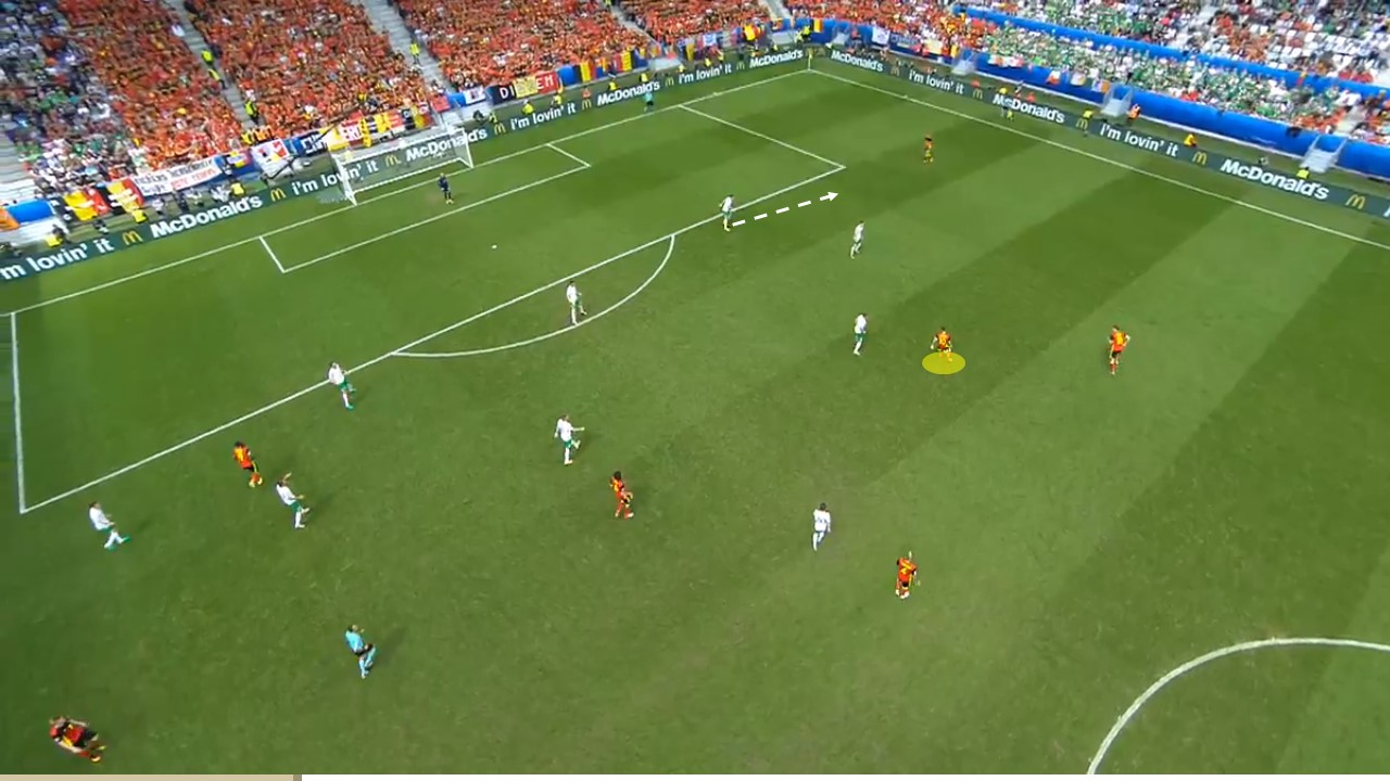 EM 2016 Match Analysis: Belgium – Ireland 3:0 - Graphic 7