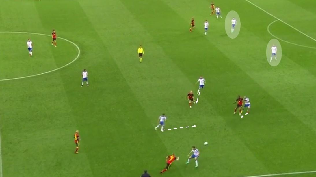 EM 2016 Match Analysis: Italy - Belgium 2:0 - Graphic 1