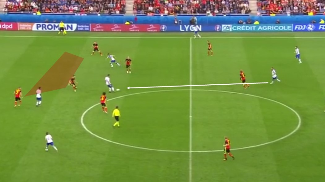 EM 2016 Match Analysis: Italy - Belgium 2:0 - Graphic 2