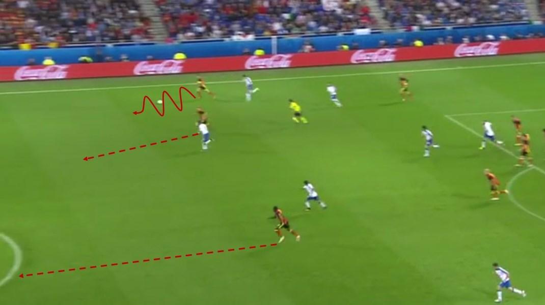 EM 2016 Match Analysis: Italy - Belgium 2:0 - Graphic 3