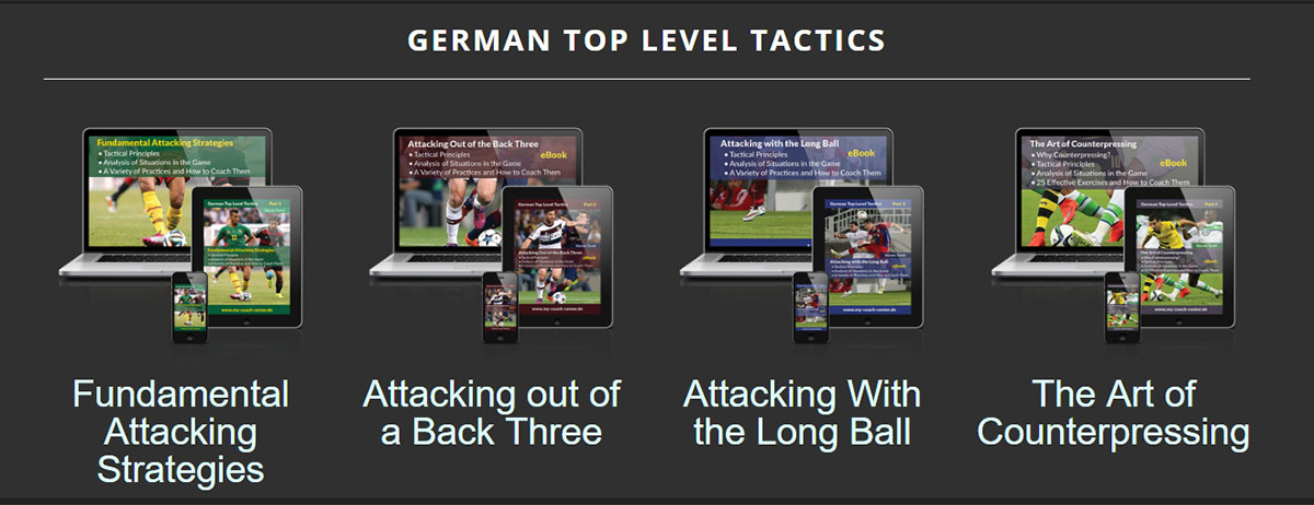 German Top Level Tactics E-Books