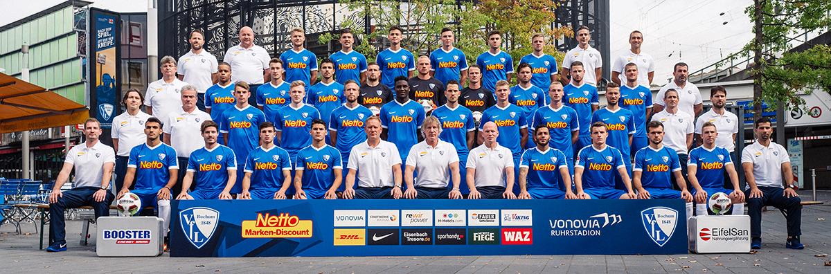 Fussball / firo VfL Bochum Fototermin 19.07.2016