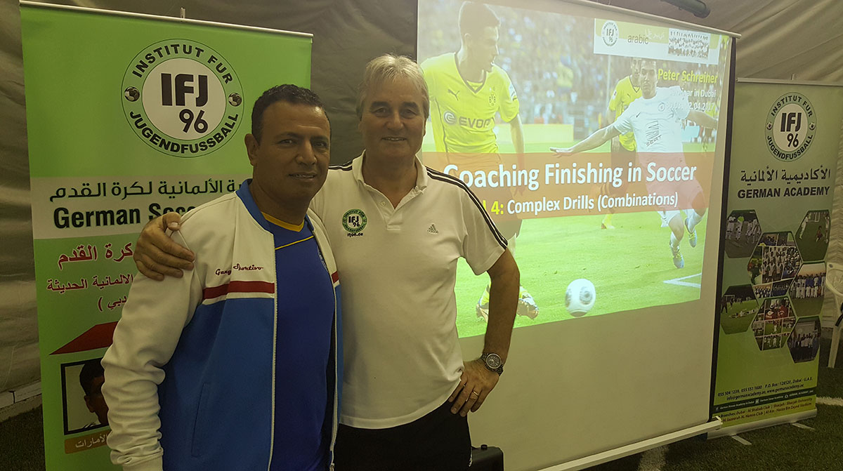 Mohamed Afifey and Peter Schreiner organized the 9th seminar in Dubai.