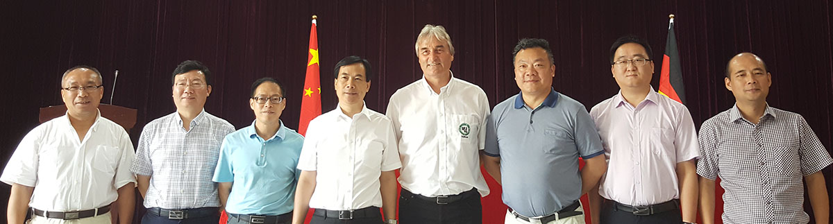 At the end all were happy to start the cooperation between Yiwu - Hireal and Institute for Youth Soccer Germany.