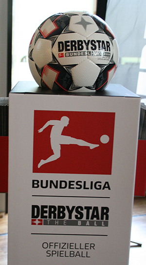The offical ball for Bundesliga: Derbystar