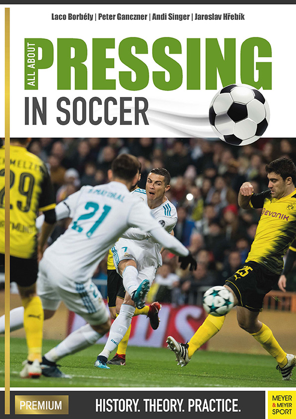 "Book and eBook ""All About Pressind in Soccer"" - Laco Borbély 