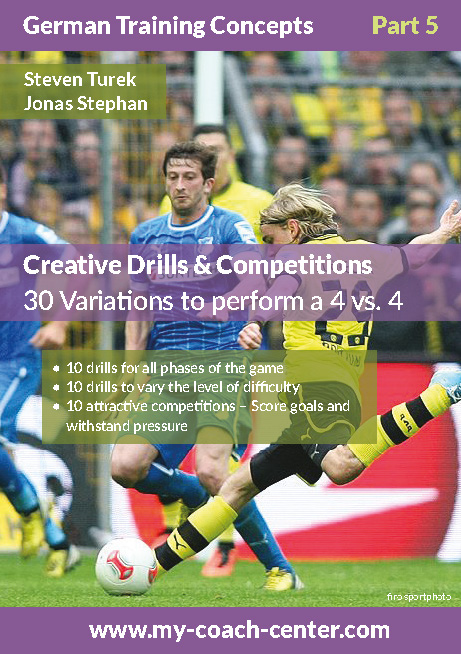 Soccer 4v4 Drills