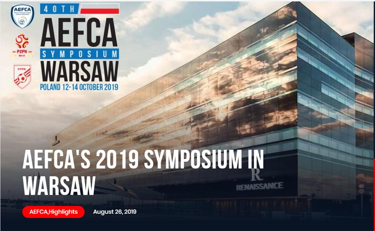 AEFCA Symposium Start