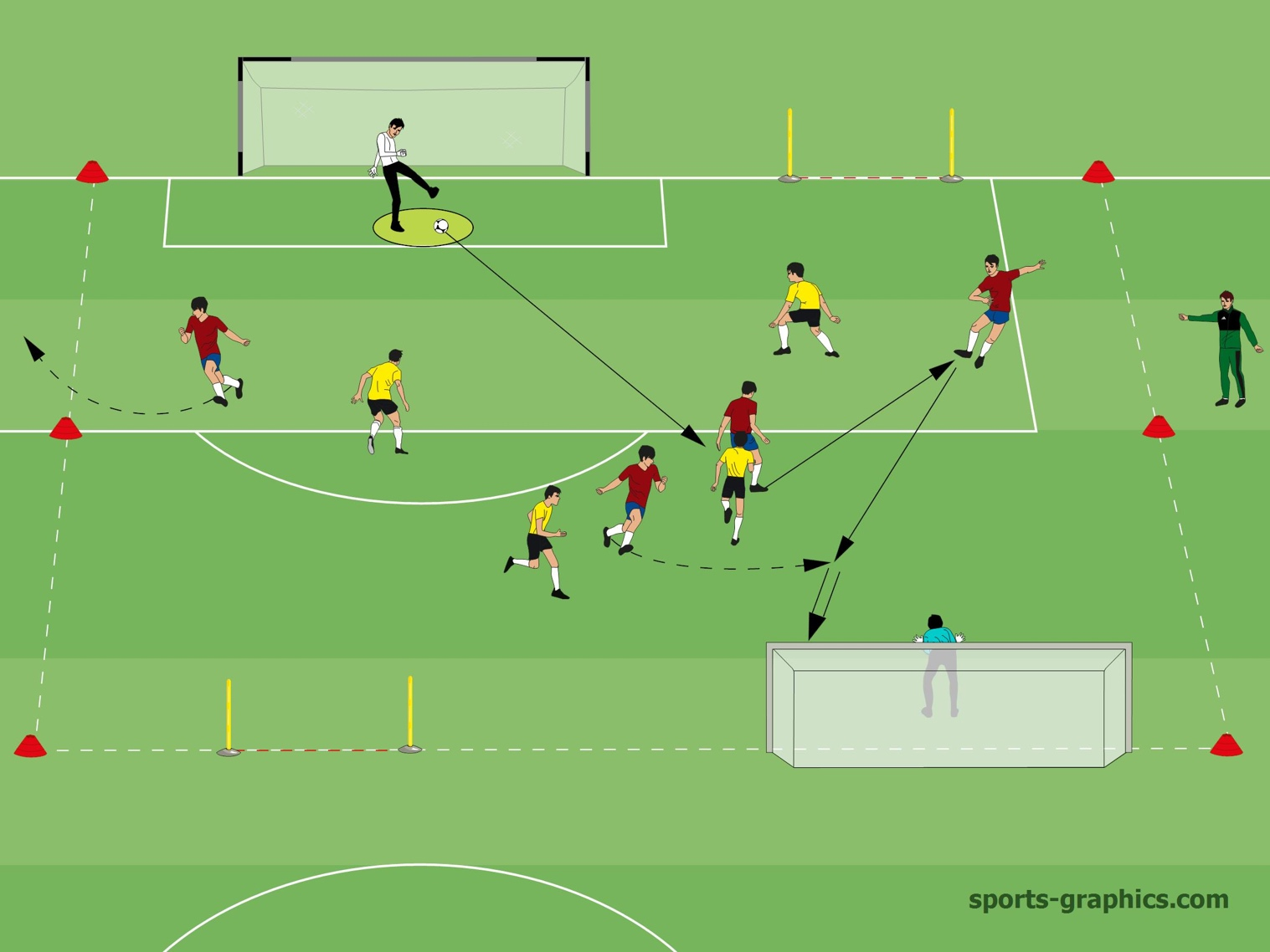 4v4 Soccer