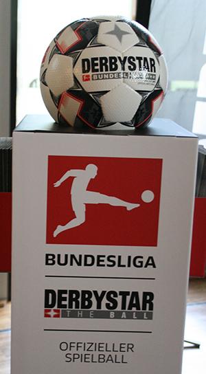 The offical ball for Bundesliga: Derbystar