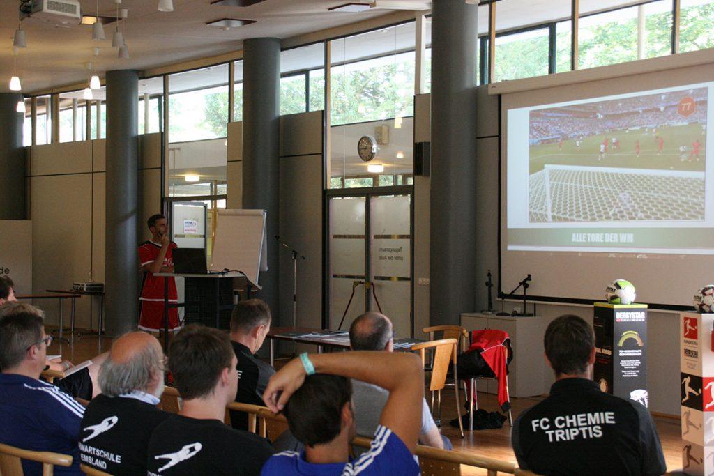 Christian Lasch (DFB presenter, F. Düsseldorf) analysed the World Cup goalkeeping situations